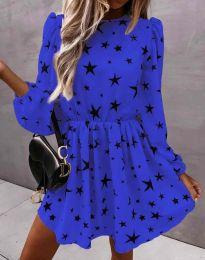 Φόρεμα - κώδ. 1689 - σκούρο μπλε