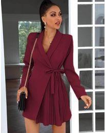 Φόρεμα - κώδ. 0333 - μπορντό