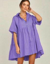 Φόρεμα - κώδ. 6464 - μωβ