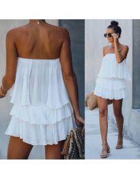 Φόρεμα - κώδ. 0489 - λευκό