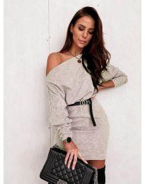 Φόρεμα - κώδ. 4442 - μπεζ