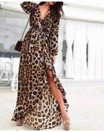 Φόρεμα - κώδ. 665 - πολύχρωμο