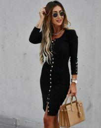 Φόρεμα - κώδ. 5822 - 1 - μαύρο