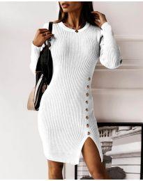 Φόρεμα - κώδ. 3200 - λευκό