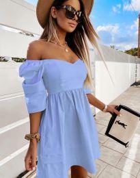 Φόρεμα - κώδ. 7413 - γαλάζιο