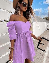 Φόρεμα - κώδ. 7413 - μωβ