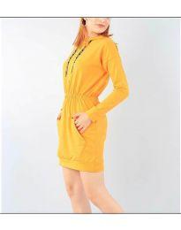 Φόρεμα - κώδ. 7315 - μουσταρδί