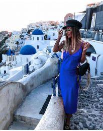 Φόρεμα - κώδ. 0005 - σκούρο μπλε