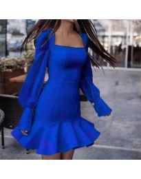 Φόρεμα - κώδ. 3605 - σκούρο μπλε