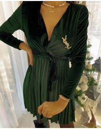 Φόρεμα - κώδ. 8619 - 2 - χακί