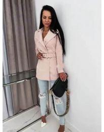 Παλτό - κώδ. 6061 - ροζ
