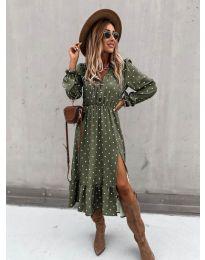 Φόρεμα - κώδ. 8866 - 2 - πολύχρωμο