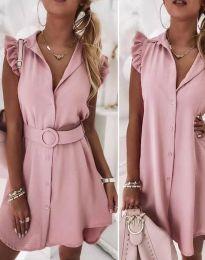 Φόρεμα - κώδ. 7411 - πούδρα