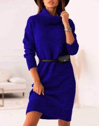 Φόρεμα - κώδ. 0393 - μπλε