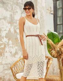 Φόρεμα - κώδ. 0351 - λευκό