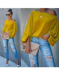 Μπλούζα - κώδ. 5151 - κίτρινο