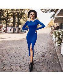 Φόρεμα - κώδ. 4177 - μπλε