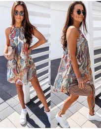 Φόρεμα - κώδ. 570 - πολύχρωμο