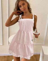 Φόρεμα - κώδ. 0316 - ανοιχτό ροζ