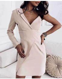 Φόρεμα - κώδ. 7128 - μπεζ