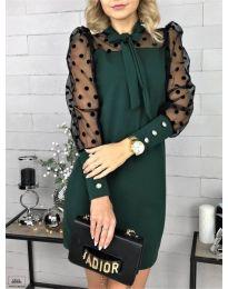 Φόρεμα - κώδ. 1081 - σκούρο πράσινο