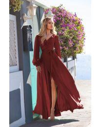 Φόρεμα - κώδ. 8477 - μπορντό