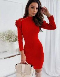 Φόρεμα - κώδ. 9652 - 1 - κόκκινο
