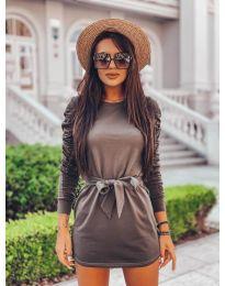 Φόρεμα - κώδ. 2529 - πράσινο