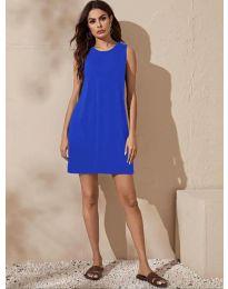 Φόρεμα - κώδ. 3075 - μπλε