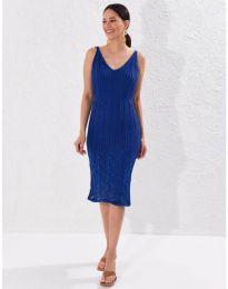 Φόρεμα - κώδ. 0351 - σκούρο μπλε