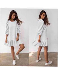 Φόρεμα - κώδ. 784 - λευκό