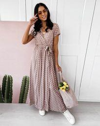 Φόρεμα - κώδ. 11725 - καπουτσίνο