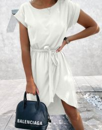 Φόρεμα - κώδ. 2074 - λευκό