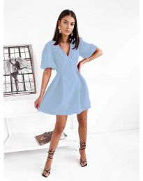 Φόρεμα - κώδ. 0807 - γαλάζιο