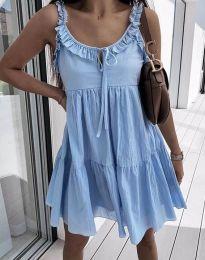Φόρεμα - κώδ. 2540 - γαλάζιο