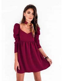 Φόρεμα - κώδ. 390 - μπορντό