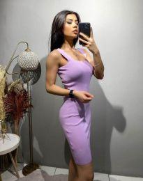 Φόρεμα - κώδ. 10300 - μωβ