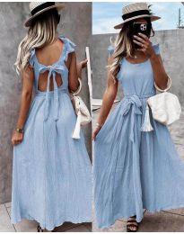 Φόρεμα - κώδ. 4806 - γαλάζιο