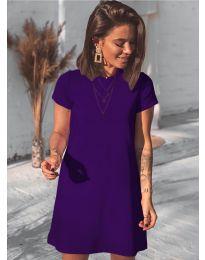Φόρεμα - κώδ. 2299 - μωβ