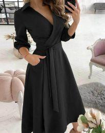 Φόρεμα - κώδ. 2861 - μαύρο