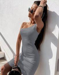 Φόρεμα - κώδ. 6412 - γκρι
