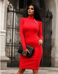 Φόρεμα - κώδ. 9768 - 1 - κόκκινο