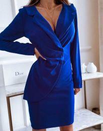 Φόρεμα - κώδ. 4159 - σκούρο μπλε