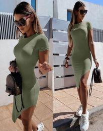 Φόρεμα - κώδ. 8391 - λαδί
