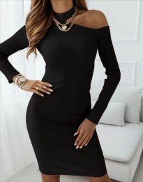 Φόρεμα - κώδ. 4859 - μαύρο