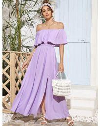 Φόρεμα - κώδ. 698 - μωβ