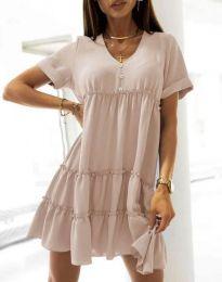 Φόρεμα - κώδ. 7205 - μπεζ