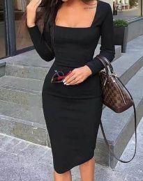 Φόρεμα - κώδ. 4521 - μαύρο