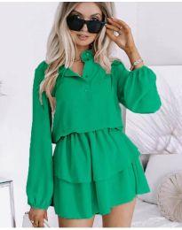 Φόρεμα - κώδ. 4093 - πράσινο