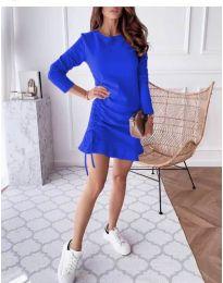 Φόρεμα - κώδ. 832 - μπλε